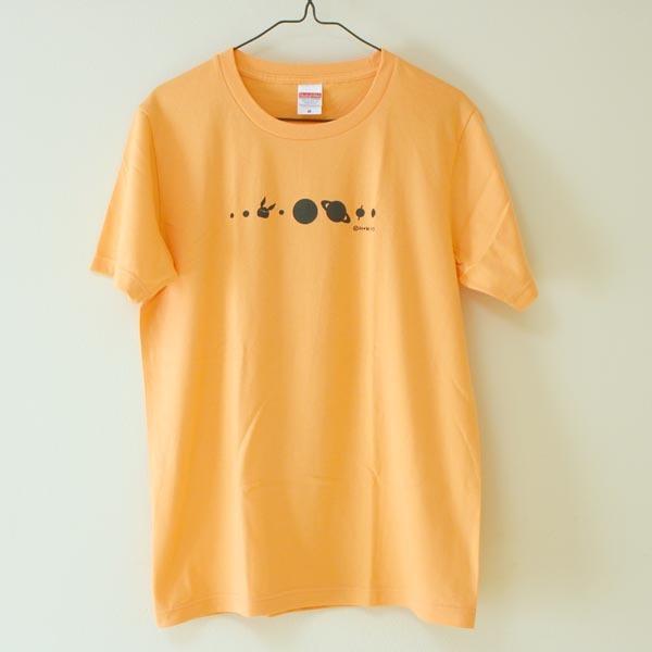 コスモサイトウサンTシャツ シャーベットオレンジ(男性用M)