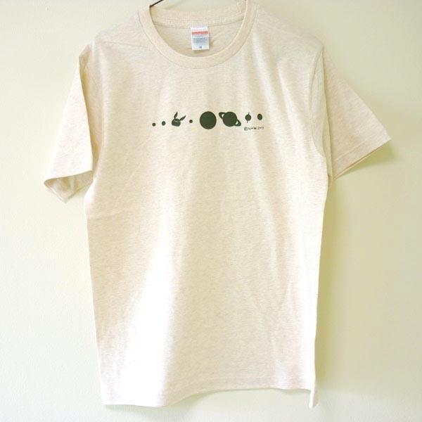 コスモサイトウサンTシャツ ヘザーベージュ(男性用M)