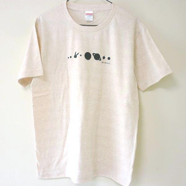 コスモサイトウサンTシャツ 男性用L ヘザーベージュ