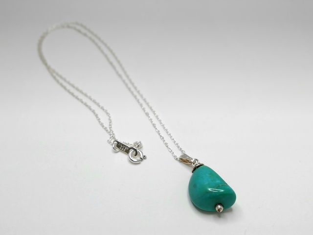 *A Turquoise*ターコイズのネックレス [Silver925]