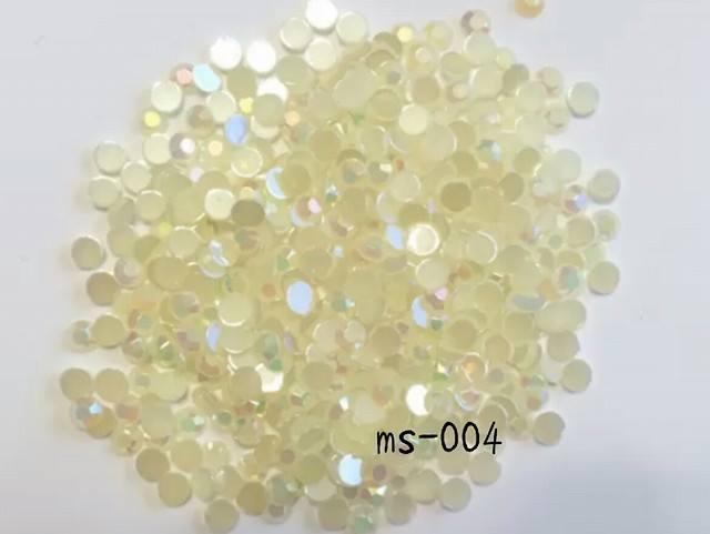 ms-004\tミルキーストーン\tmix(5・4・3mm)\tホワイトAB\t5mm10g/4mm3g/3mm4g
