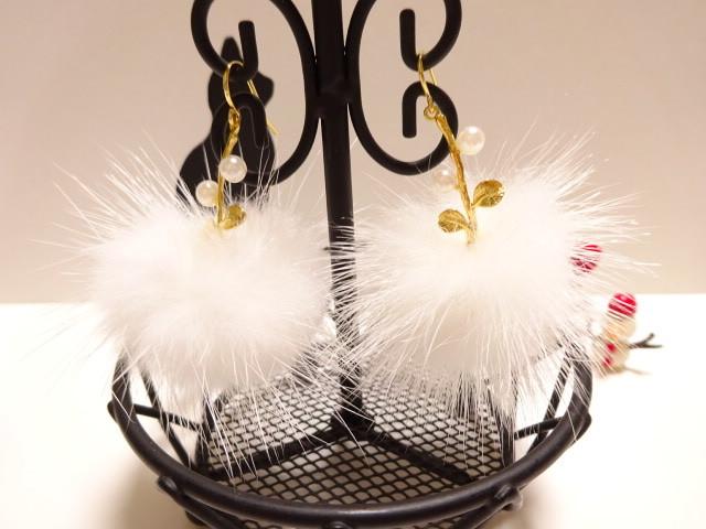 綿帽子雪◆◇◆ピアス・2◆◇◆