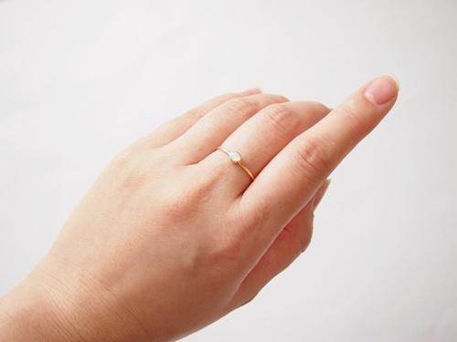 Swarovski  minimalist ring