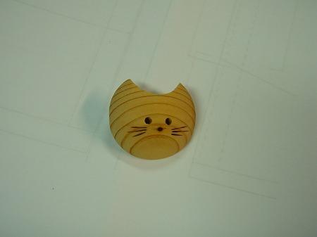 ひのき猫(hinocatブローチ)Sサイズ