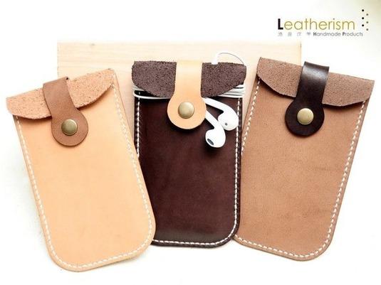 手縫い3色選び本革「丸々」スマートフォンケース