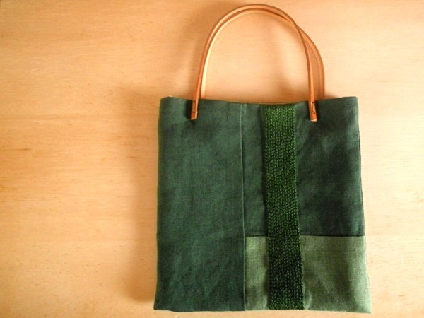 itoiro petit bag (green)