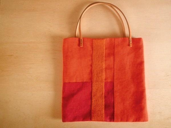 itoiro petit bag (orange)
