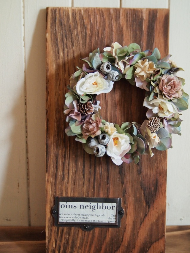 antique wreath