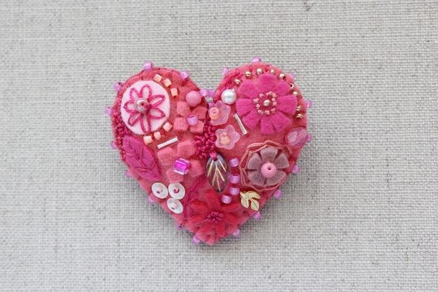 バレンタインのために…ピンクのハート...