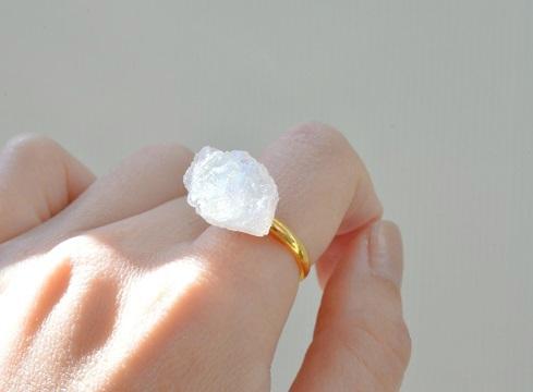 氷砂糖のリング