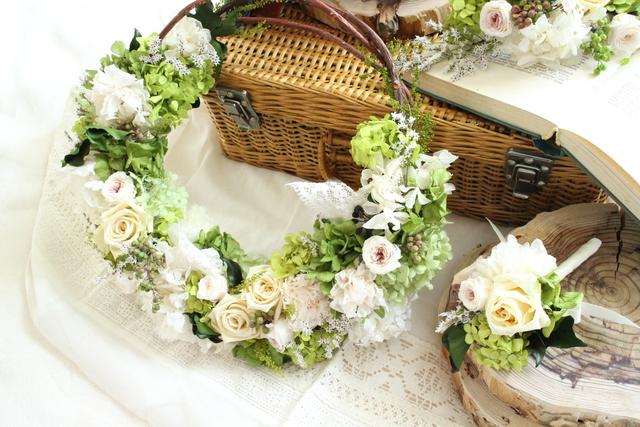 wreath bouquet#103  [ブーケ×リース...