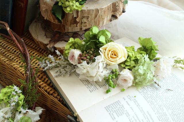 wreath bouquet#103 set head dress [...