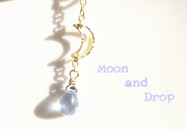 Moon & Drop*イヤホンジャックアクセサ...