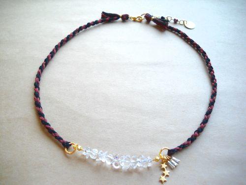 desolate necklace crystal