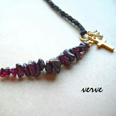 desolate necklace garnet
