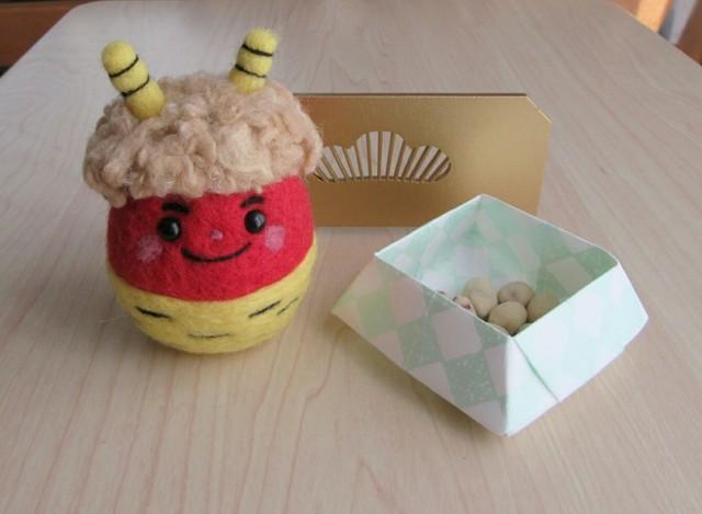 羊毛鬼だるまさん(赤鬼1)