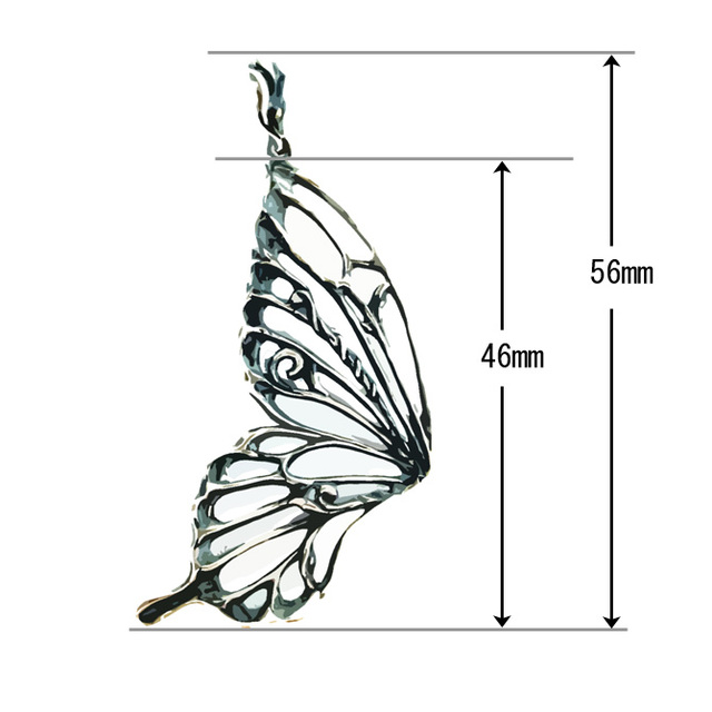 swallowtail(left wing size:LL)
