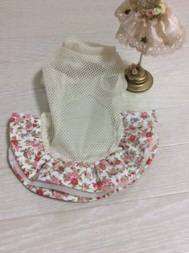 お花柄インナースカート