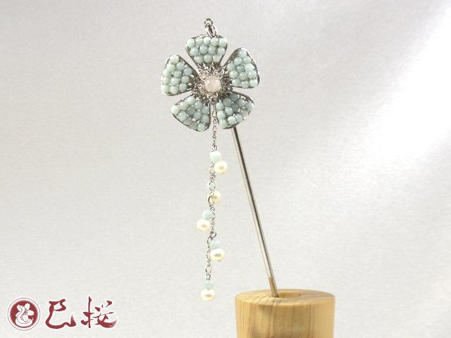 パワーストーンの花かんざし-アマゾナイ...