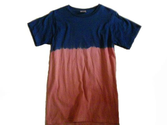 草木染オーガニックTシャツ「色変階001」