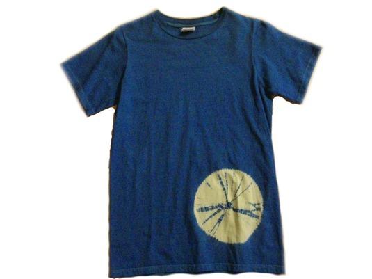 草木染オーガニックTシャツ「天球001」