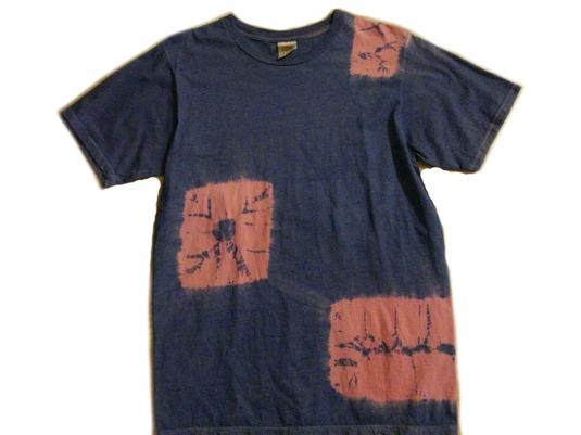 草木染オーガニックTシャツ「継ハギ」