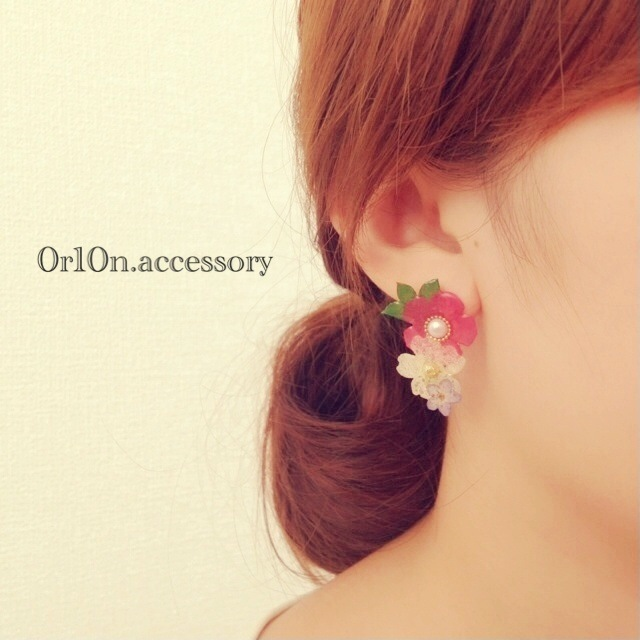 flower pierce.【no/2】