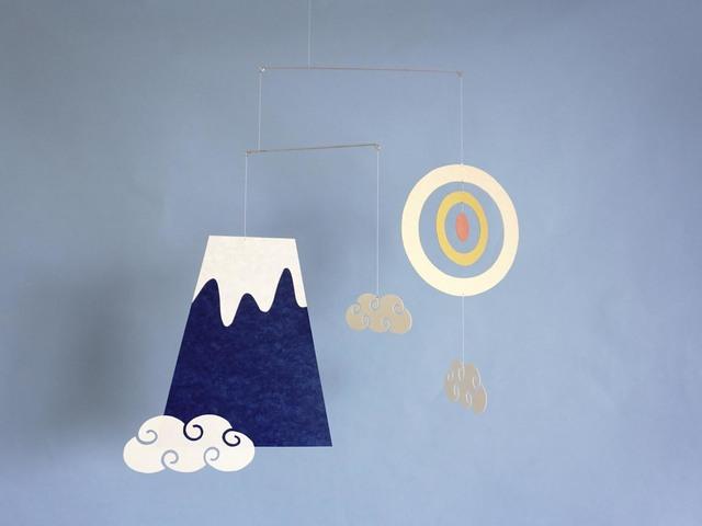 モビール「富士山」その5