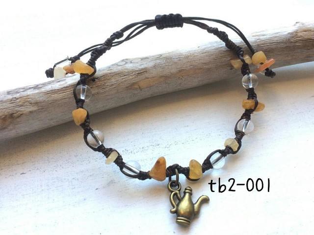 tb2-001\t天然石ブレス?\t水晶\tイエロ...
