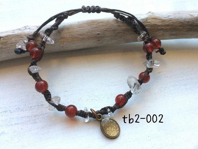 tb2-002\t天然石ブレス?\tカーネリアン(...