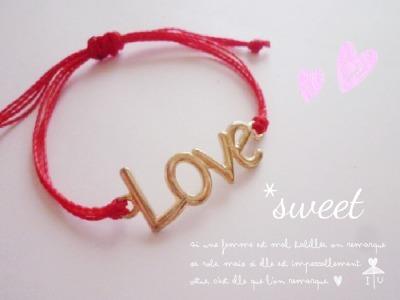 ??LOVE ?? BRACELET