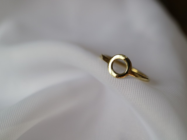 circle ring【brass】