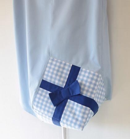 がんばる自分におくりものスカート〜水色