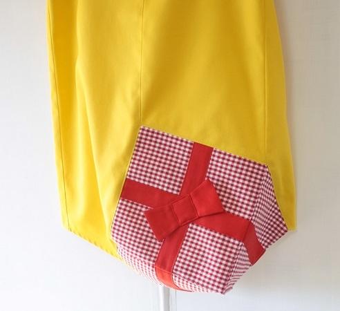 がんばる自分におくりものスカート〜きいろ