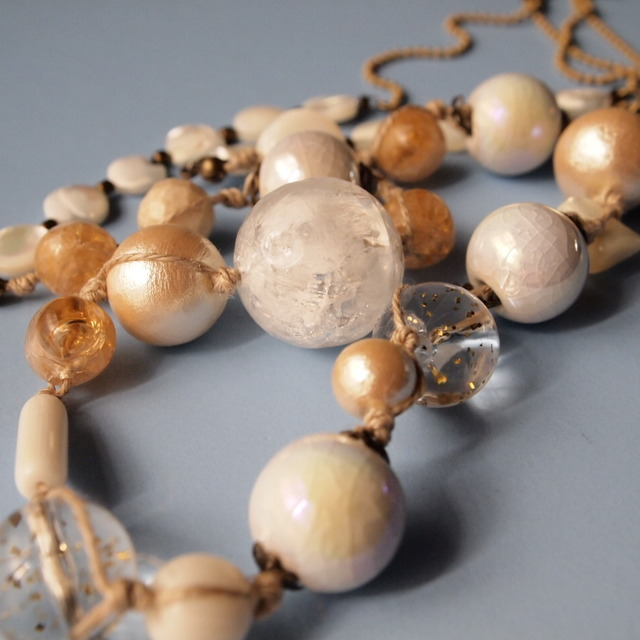 White & ivory necklace