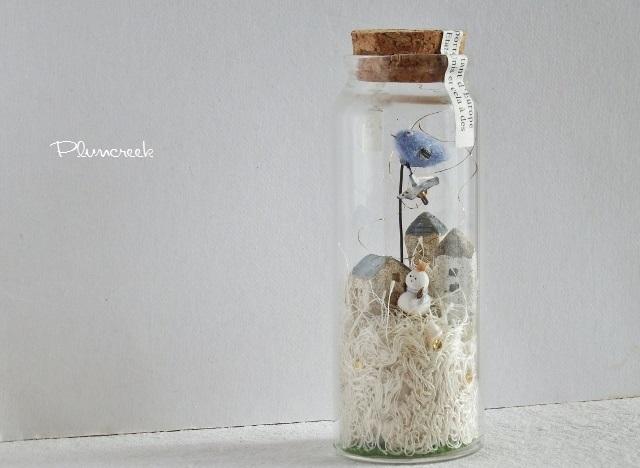 しあわせの青い鳥ボトル-L ・・・ミル...