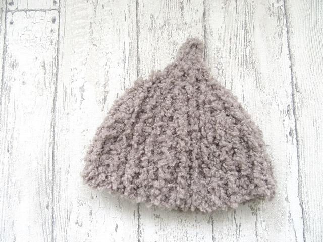 もこもこドングリ帽子 44〜48cm