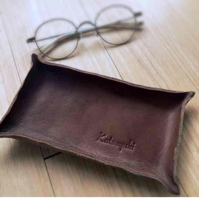 プレゼントに☆名前を入れた 革のメガネ...