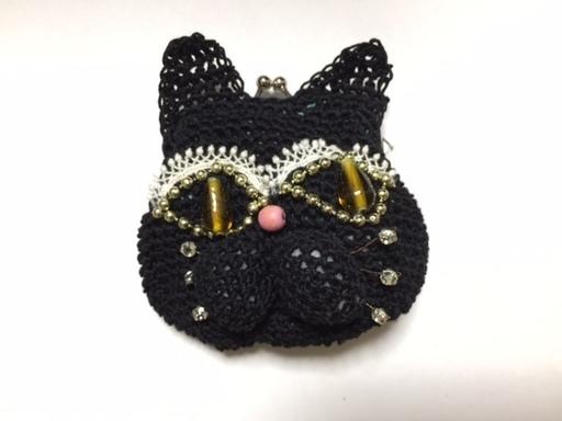 ご注文のお品/黒猫ちゃん