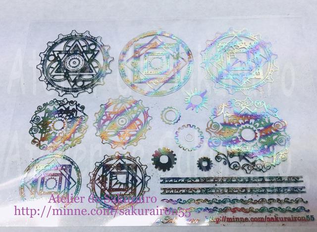 レジン封入用シート :magic circle(No...