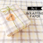 【WRAPPING PAPER】ファブリック(4枚入り/ラッピングペーパー)