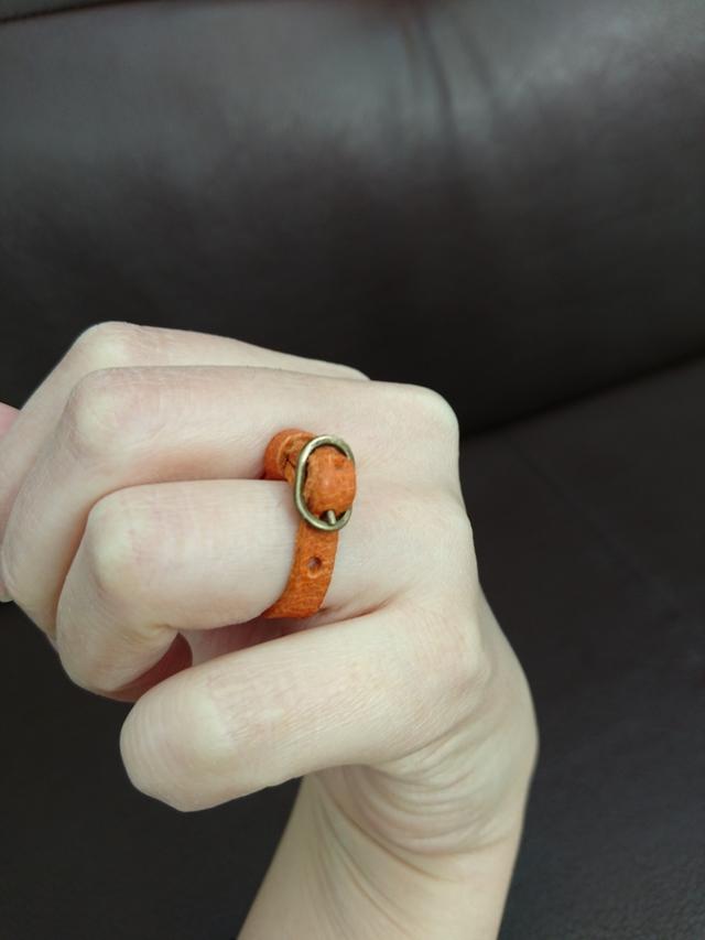 本革ベルトリング レザー 指輪