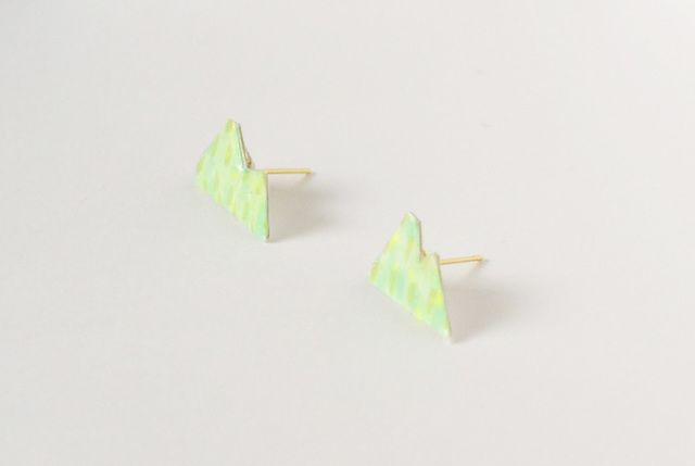 【paper moon】紙でつくったピアス(yama )