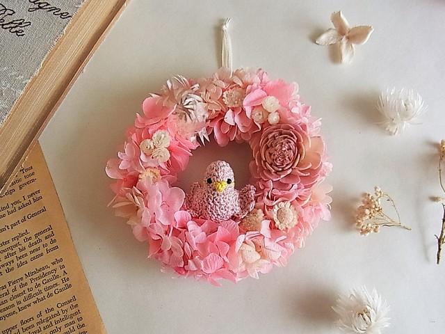 春色ことりのミニリース ピンク