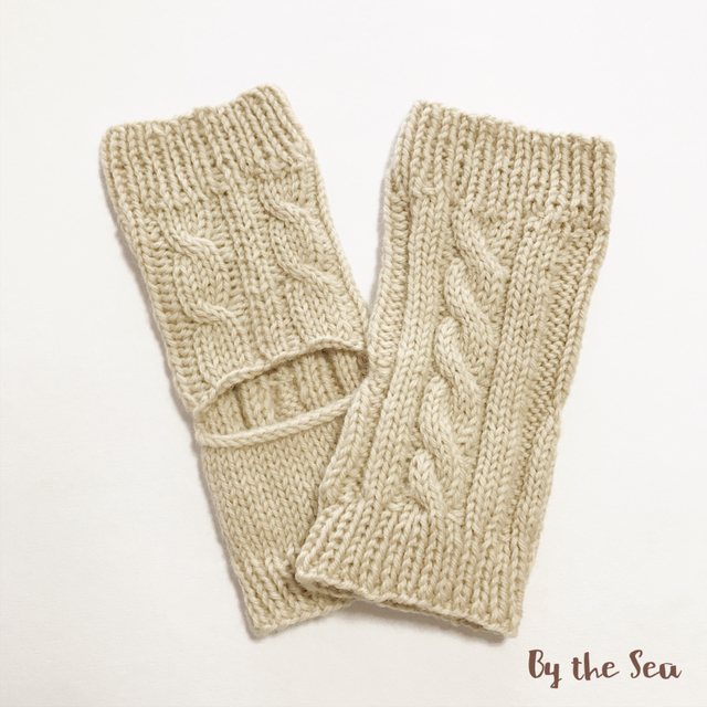 Hand Knit ケーブル編み ヨガソックス ...