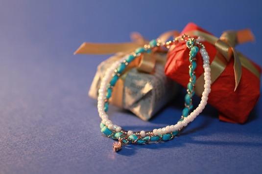 Turquoise Blue Glitter