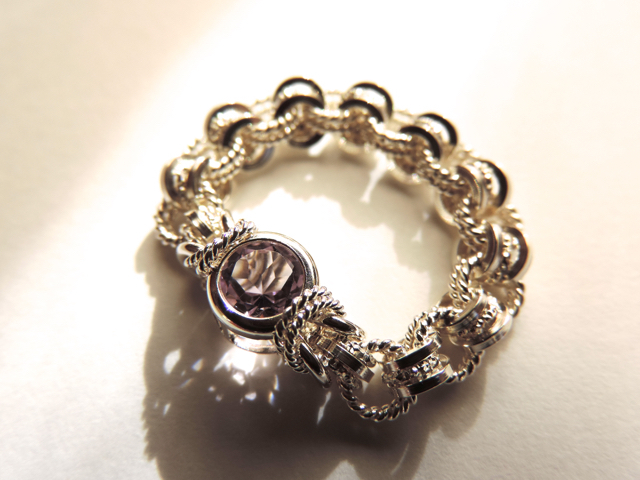 『 Caring ( heart ) 』Ring by SV925