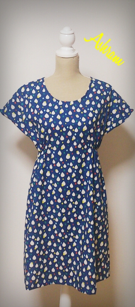 simple*One Piece: TEAR DROP ~Navy~