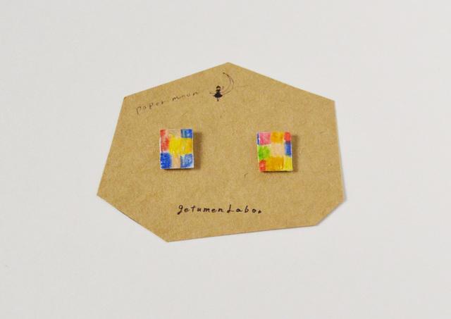 【paper moon】紙でつくったピアス(kitc...
