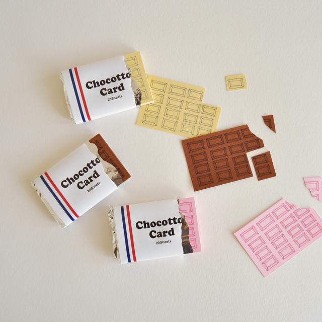 <3個セット>チョコっとカード Chocot...